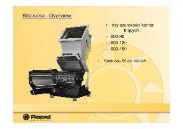 600-seria - Overview: - muehsam