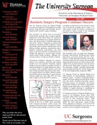 Bariatric Surgery Program Continues Success - Surgery - University ...