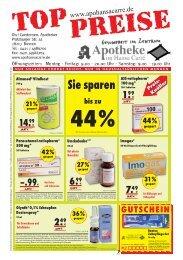 Preis - Apotheke im Hansa Carré