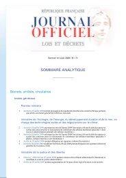 Journal officiel - Le Nouvel Observateur