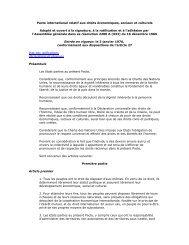 Le Pacte international relatif aux droits économiques (pdf
