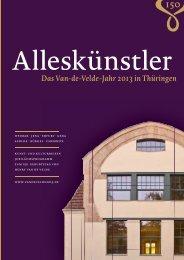 Das Van-de-Velde-Jahr in Thüringen - Klassik Stiftung Weimar
