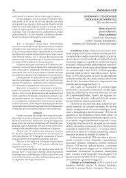 Sindromul tensionării intrafusale simpatice