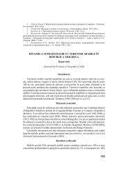 143 dinamica suprafeţelor cu terenuri arabile în republica moldova