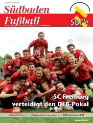 Ausgabe 3   Juni 2012 - SBFV