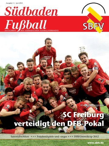 Ausgabe 3 | Juni 2012 - SBFV