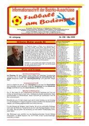 Nr. 236 – Mai 2009 20. Jahrgang - SBFV
