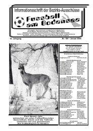 16. Jahrgang Nr. 184 – Januar 2005 - SBFV
