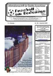 14. Jahrgang Nr. 159 – Dezember 2002 Schiri ... - SBFV