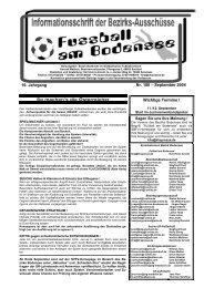 Nr. 180 – September 2004 16. Jahrgang Wichtige Termine ! - SBFV