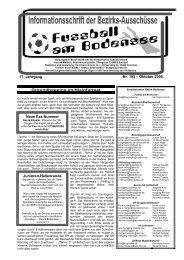 17. Jahrgang Nr. 193 – Oktober 2005 Junioren-Hallenrunde ... - SBFV