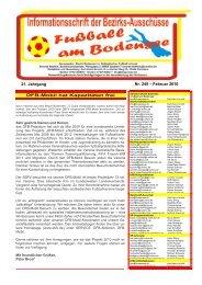 DFB-Mobil hat Kapazitäten frei Nr. 245 – Februar 2010 21 ... - SBFV