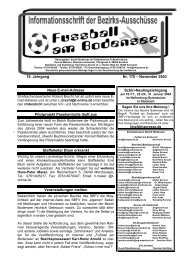 15. Jahrgang Nr. 170 – November 2003 Neue E-mail ... - SBFV