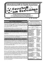 16. Jahrgang Nr. 188 – Mai 2005 - SBFV