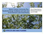 July 10, 2008 Santa Barbara County Powerpoint Presentation for ...