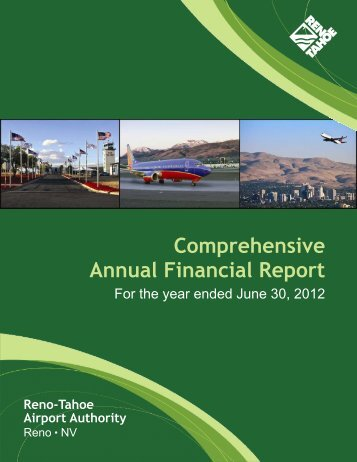 2012 Financial Report - Reno-Tahoe International Airport