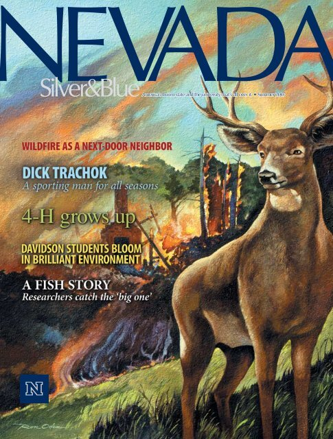 Nevada Silver & Blue Magazine, Summer 2007 - University of ...