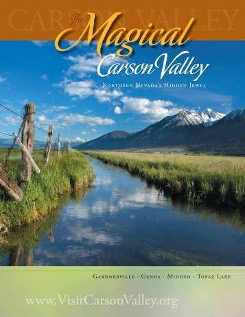 Magical Carson Valley - Nevada Commission on Tourism