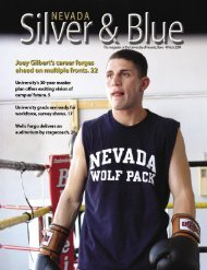 Nevada Silver & Blue: Winter 2004 - University of Nevada, Reno