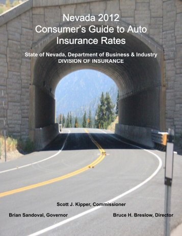 Consumer's Guide to Auto Insurance Rates - Nevada Division of ...