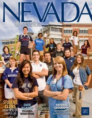 studeNt CLUBS - University of Nevada, Reno