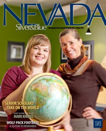 senior scholars take on the world - University of Nevada, Reno