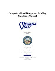 Computer-Aided Design and Drafting Standards Manual - Nevada ...