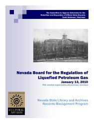 Liquefied Petroleum Gas Board - Nevada State Library and Archives