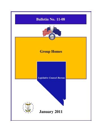 Bulletin 11-08 Group Homes