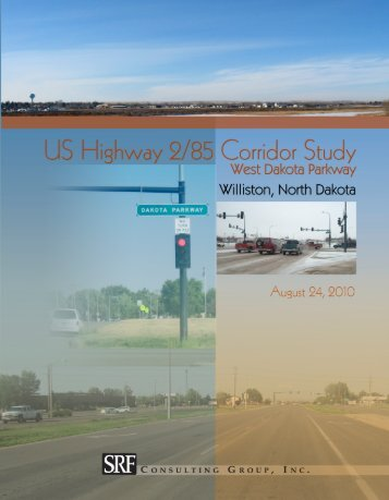 Highway 2 Corridor Study - City of Williston