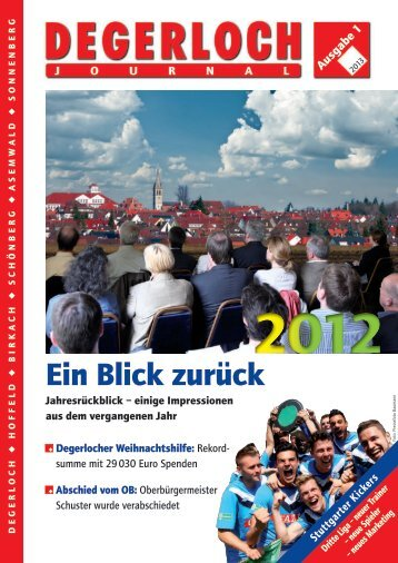 Ein Blick zurück - degerloch.info