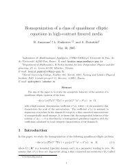 Homogenization of a class of quasilinear elliptic equations in high ...