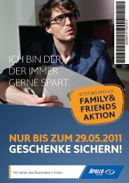 EXKLUSIVE FAMILY & FRIENDS AKTION!