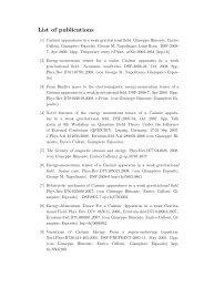 List of publications - INFN Napoli