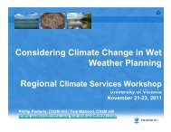 Best Practices for Assessing Climate Risk from Extreme Rainfall ...