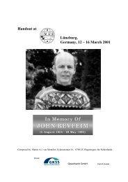 John Revfeim - International Meetings on Statistical Climatology