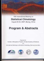 The tenth IMSC, Beijing, China, 2007 - International Meetings on ...