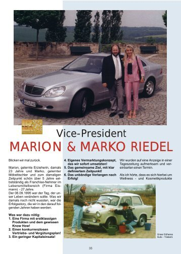 MARION & MARKO RIEDEL