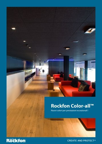 Rockfon Color-all™ - Prodotti - Rockfon