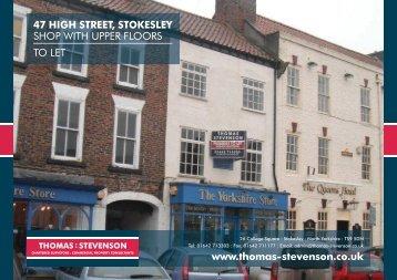 Download Full Particulars - Thomas : Stevenson