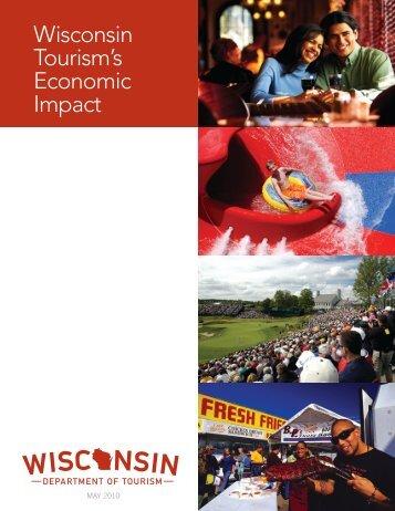 2009 Economic Impact PDF - Wisconsin Department of Tourism