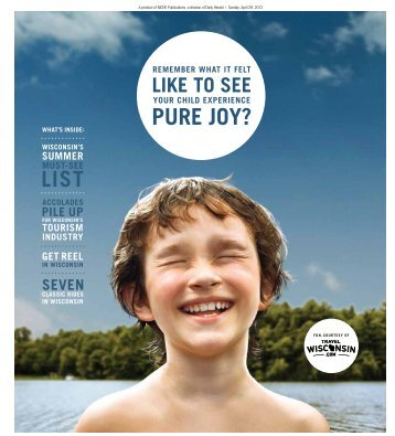 PURE JOY? - Wisconsin Department of Tourism