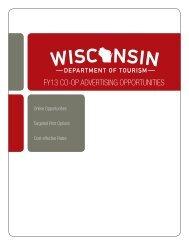 fy13 co-op advertising opportunities - Wisconsin Department of ...