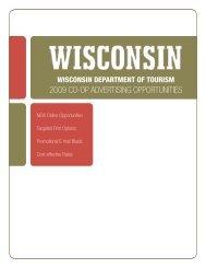2009 co-op advertising opportunities - Wisconsin Department of ...