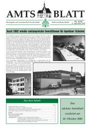 Amtsblatt Nr. 13/02 vom 27. September 2002 - Apolda