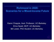 Richmond in 2020 - Center for Community Innovation