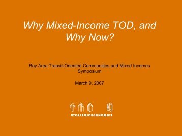 bay area mixed income -se - Center for Community Innovation