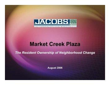 Market Creek Plaza - Center for Community Innovation