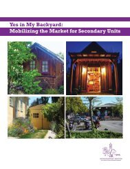 Yes in My Backyard: Mobilizing the Market for Secondary Units [PDF]
