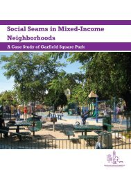 Social Seams in Mixed-Income Neighborhoods - Center for ...